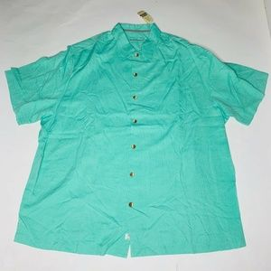 Tommy Bahama Men Camp Shirt Size 2XB Big & Tall
